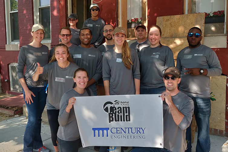 Century Organizes Fourth Year of Habitat for Humanity Team Build Events